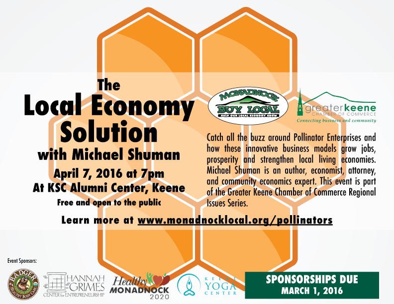 the local economy solution how innovative selffinancing pollinator enterprises can grow jobs and prosperity